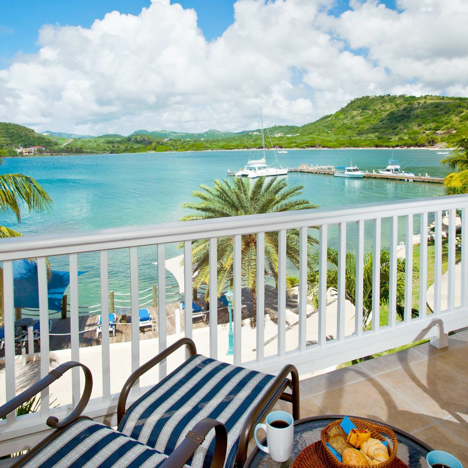 All-inclusive Beachfront Deck Family Resort Scenic views tree leisure property caribbean home Villa porch overlooking surrounded