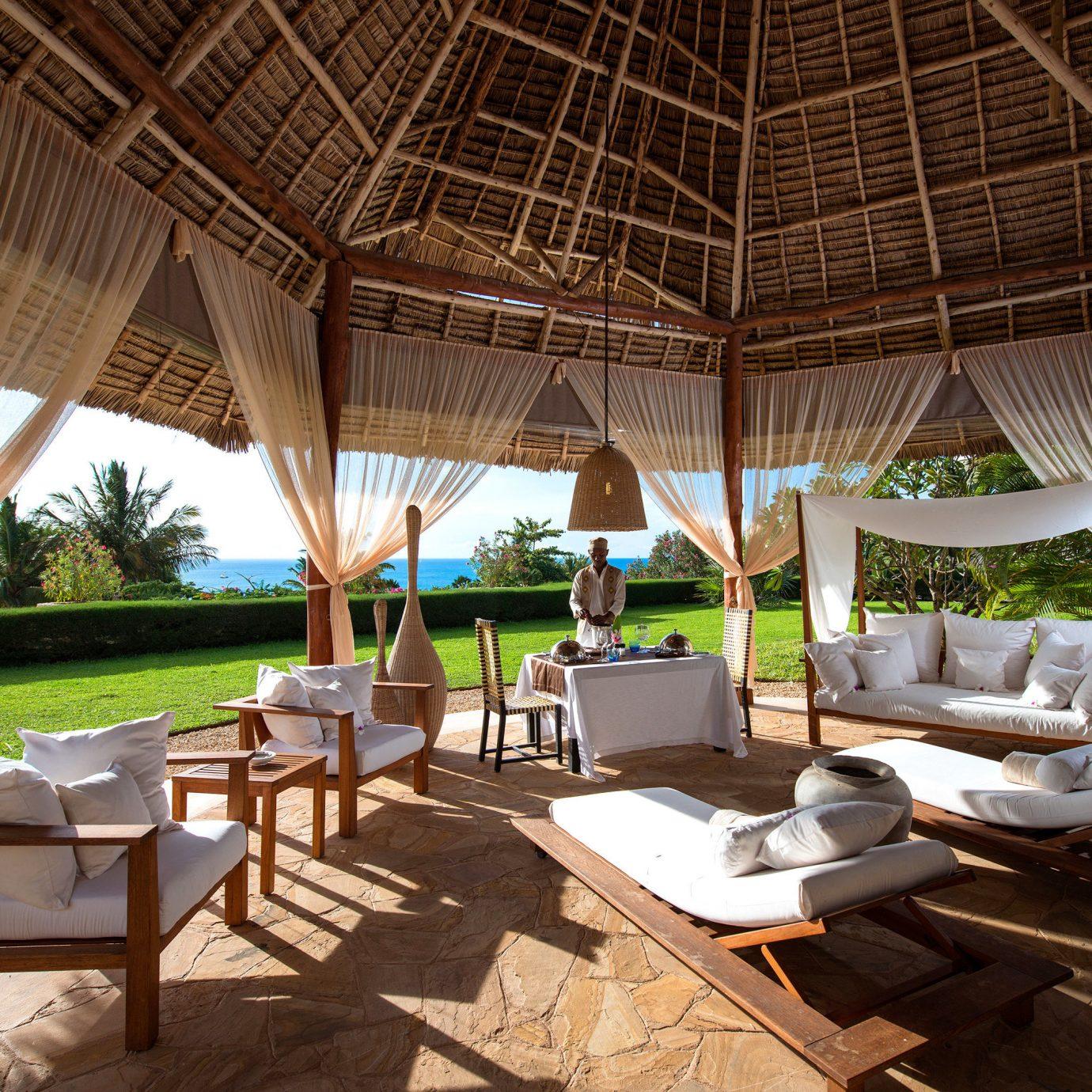 All-inclusive Beachfront Dining Luxury Resort chair home backyard restaurant Villa hacienda cottage