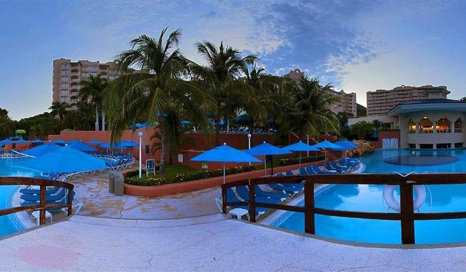 All-inclusive Beachfront Exterior Modern Pool Resort Waterfront tree swimming pool leisure property Water park Villa resort town amusement park condominium mansion
