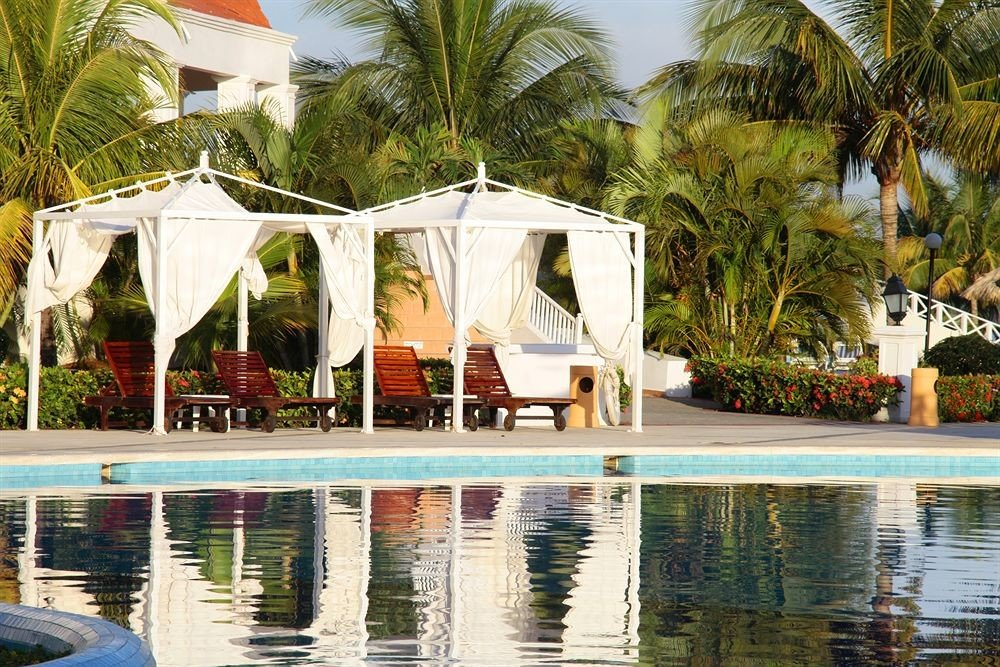 All-inclusive Beachfront Grounds Pool Resort Romantic Tropical tree leisure swimming pool palm pond