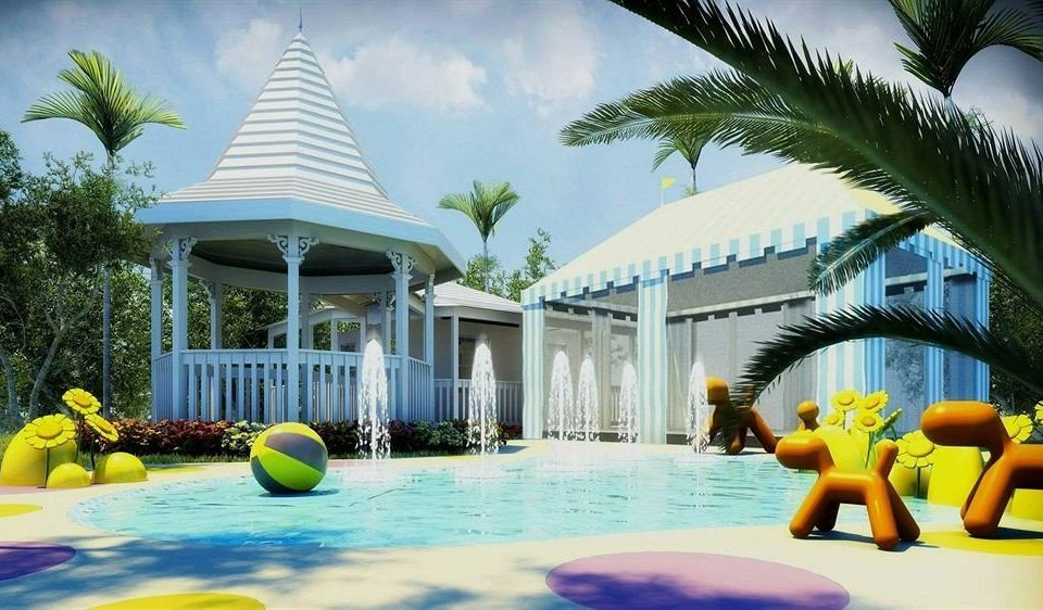 All-inclusive Beachfront Kids Club Pool Tropical tree leisure swimming pool Resort yellow Water park amusement park Villa caribbean