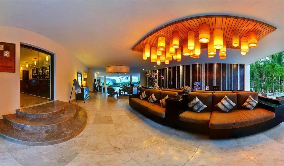 All-inclusive Beachfront Lobby Lounge Modern Waterfront property leisure Resort hacienda plaza Villa