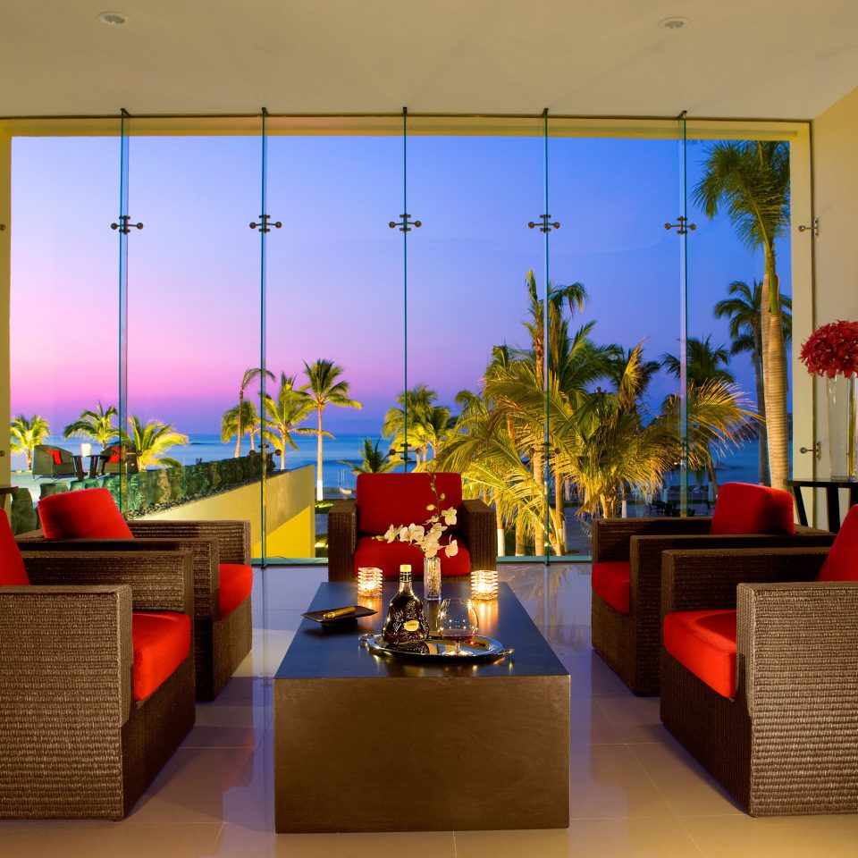 All-inclusive Beachfront Lounge Modern Ocean Scenic views Sunset Waterfront living room Lobby home Suite