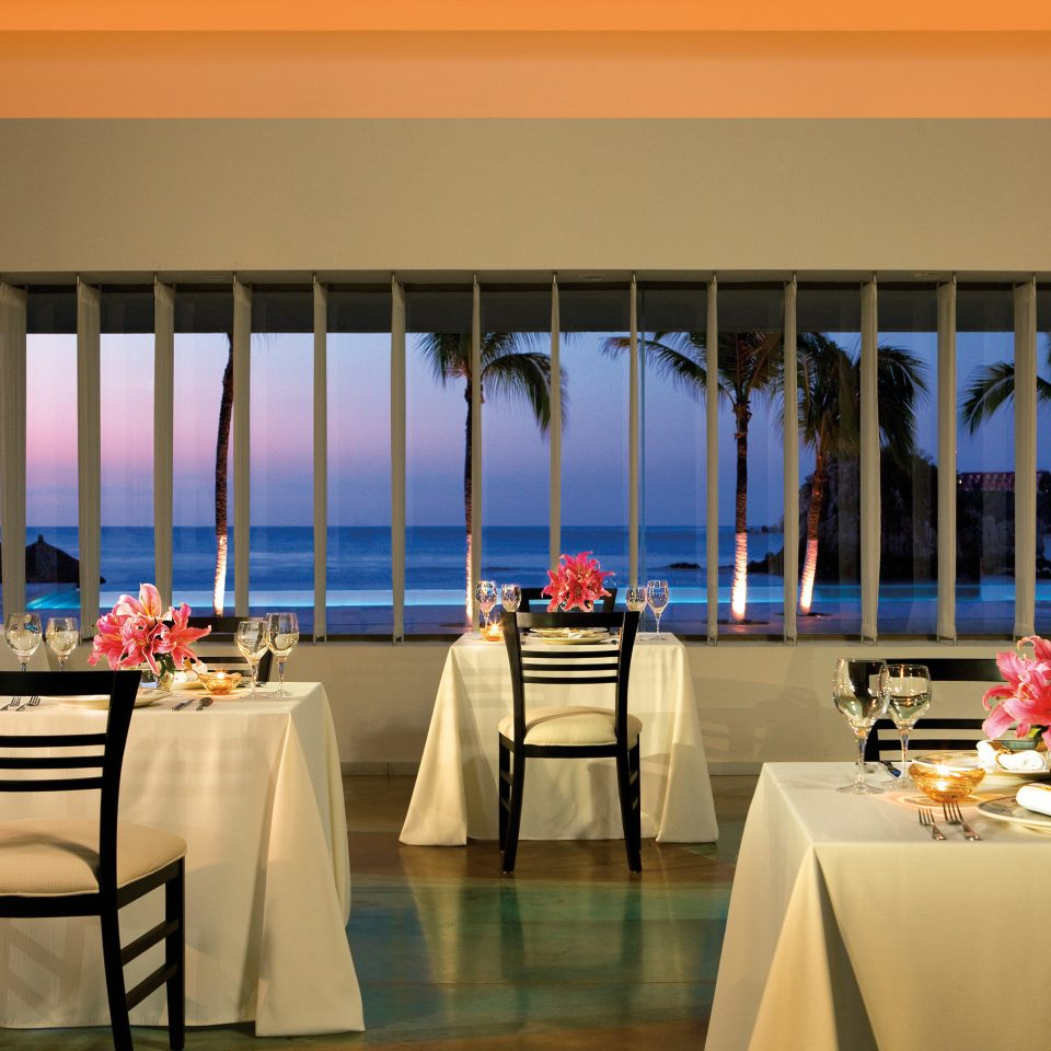 All-inclusive Beachfront Modern Ocean Scenic views Sunset Waterfront chair function hall restaurant banquet conference hall ballroom convention center convention lined