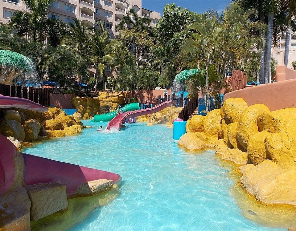 All-inclusive Beachfront Modern Outdoor Activities Pool Resort Waterfront tree Water park amusement park leisure swimming pool park outdoor recreation recreation colorful swimming colored