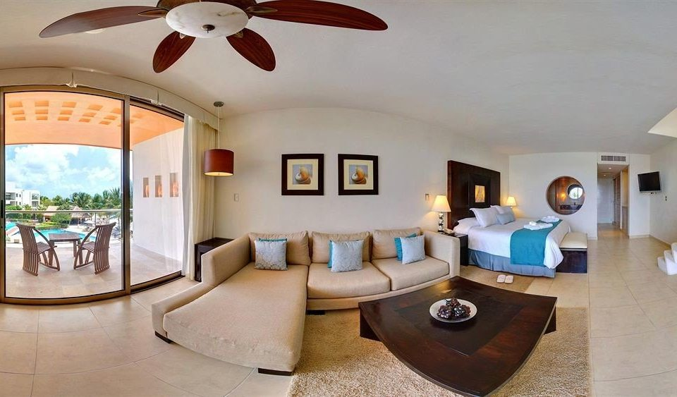 All-inclusive Beachfront Modern Pool Waterfront property Resort living room Villa Suite home hacienda condominium mansion