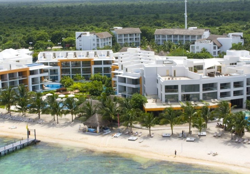 All-inclusive Beachfront Modern Waterfront property Resort marina condominium residential area dock Water park shore
