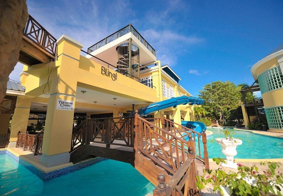 All-inclusive Beachfront Pool Resort Tropical leisure property building Water park amusement park swimming pool resort town Villa park