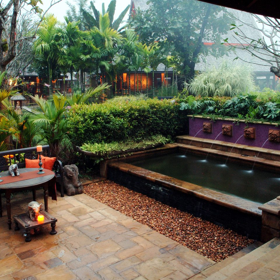 All-inclusive Boutique Classic Family Grounds tree property swimming pool backyard Courtyard orange Garden yard outdoor structure Villa hacienda stone