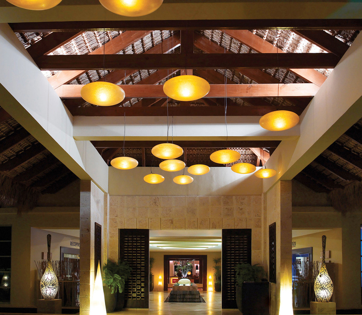 All-inclusive Boutique Exterior Family Luxury Resort Romantic Lobby lighting restaurant