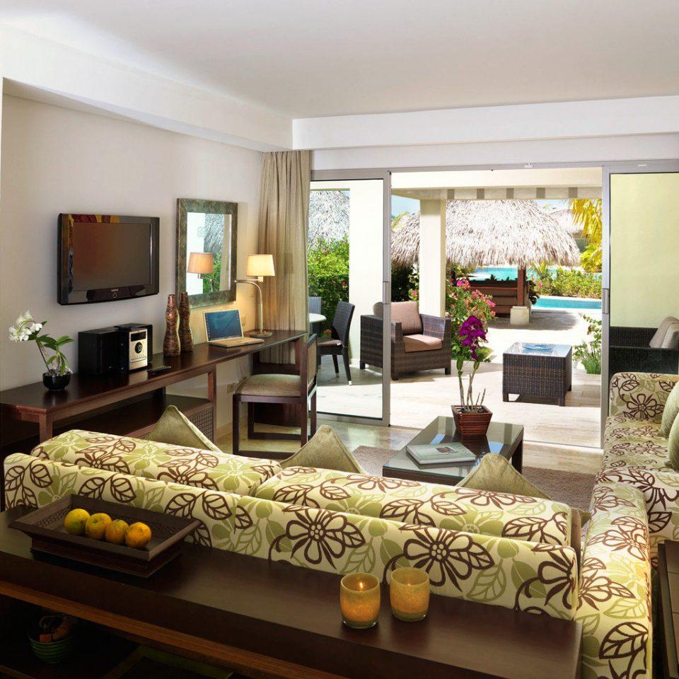 All-inclusive Boutique Family Luxury Resort Romantic Suite sofa property living room home condominium Villa cottage mansion