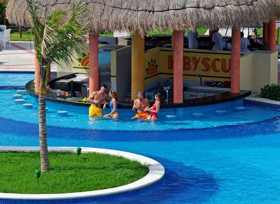 All-inclusive Budget Drink Family Pool Resort Tropical Waterfront water tree leisure swimming pool amusement park Water park park swimming Playground backyard blue