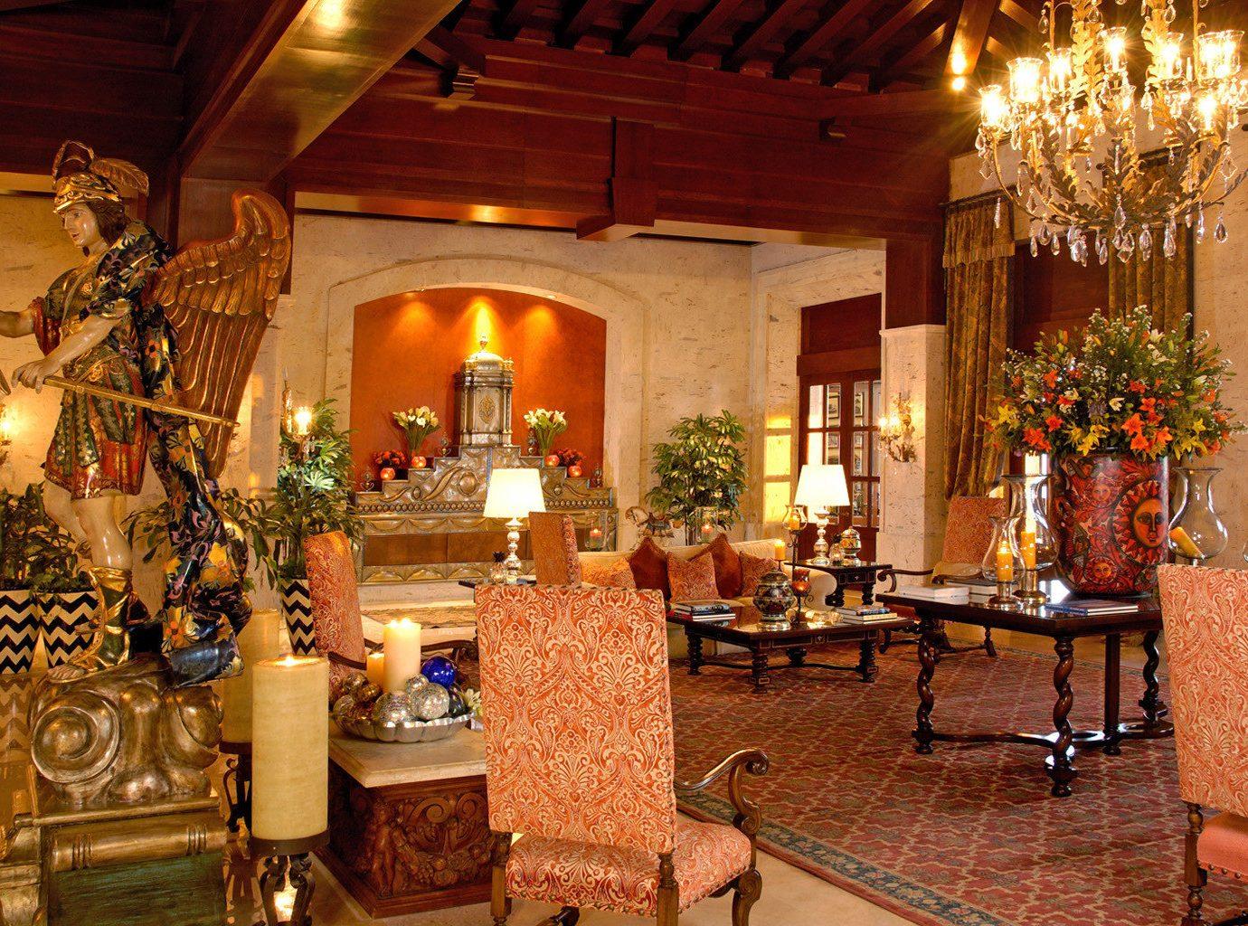 All-inclusive Elegant Family Lobby Resort Tropical building palace restaurant home hacienda function hall mansion ballroom living room
