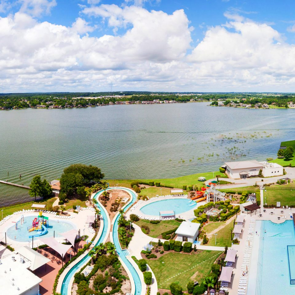 All-inclusive Exterior Kids Club Luxury Resort Waterfront sky water grass River Lake aerial photography rural area Sea overlooking