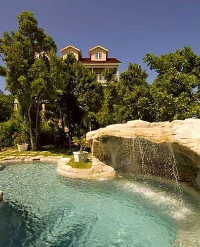 All-inclusive Family Luxury Pool Romantic Waterfall tree swimming pool reflecting pool water feature Nature mansion backyard Villa Garden Resort pond stone