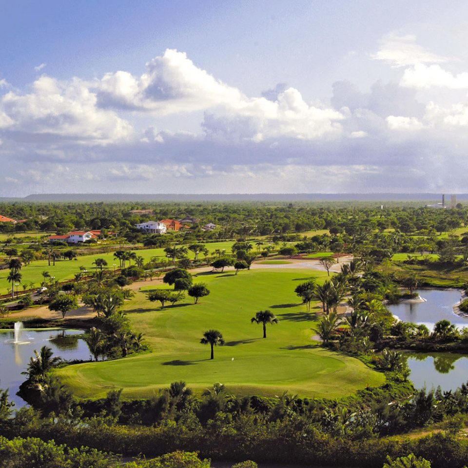 All-inclusive Family Golf Grounds Nature Outdoors Resort Sport grass sky structure aerial photography plain field sport venue hill atmosphere of earth rural area bird's eye view golf course landscape agriculture grassy wetland lush plant pasture overlooking clouds hillside day highland