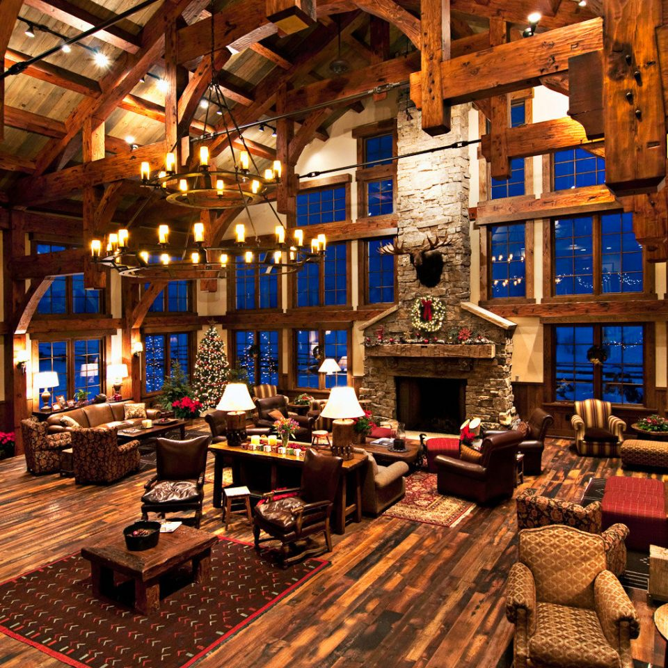 All-inclusive Fireplace Lobby Lodge Lounge Outdoor Activities Outdoors Ranch Romantic building screenshot Resort place of worship