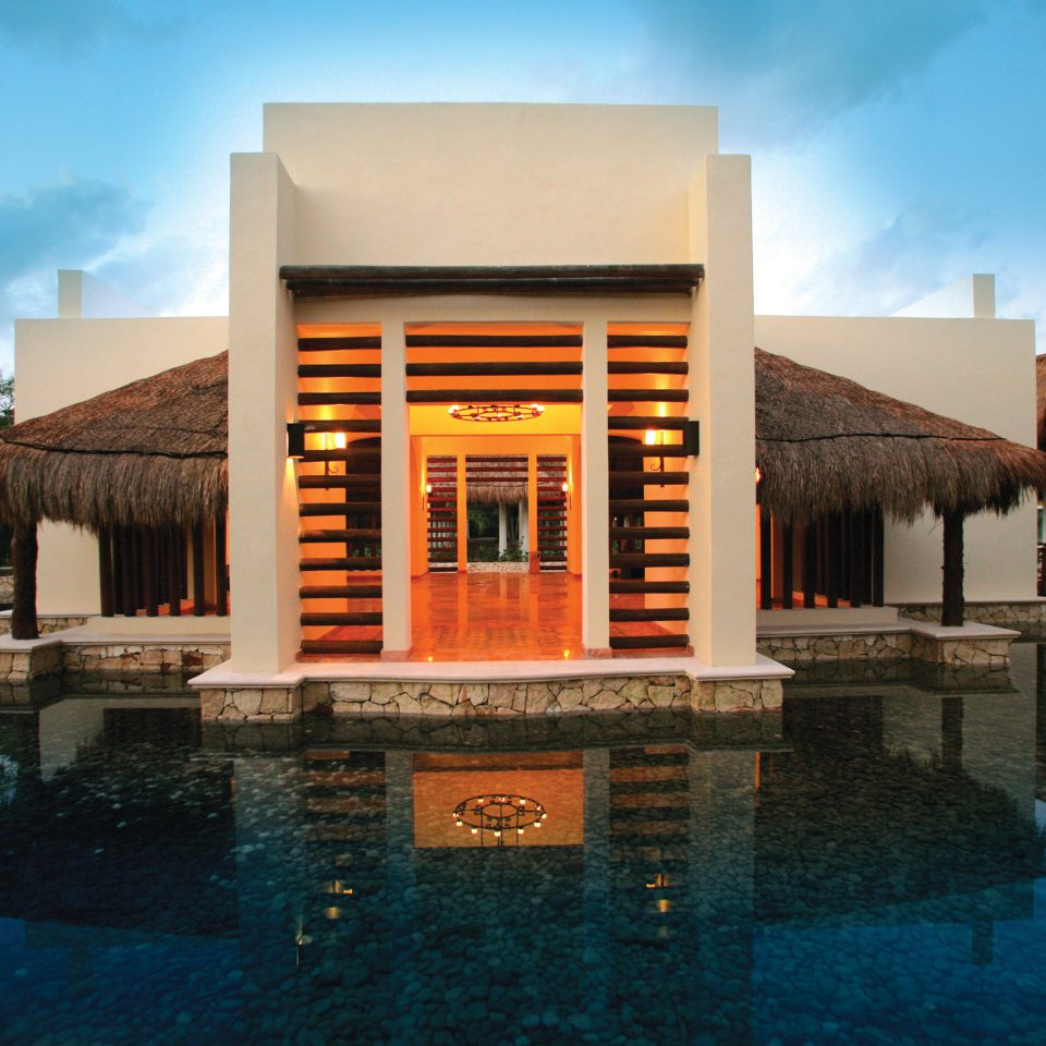 All-Inclusive Resorts Elegant Exterior Hotels Luxury Modern Villa Waterfront sky water building house property Architecture home professional swimming pool Resort stone