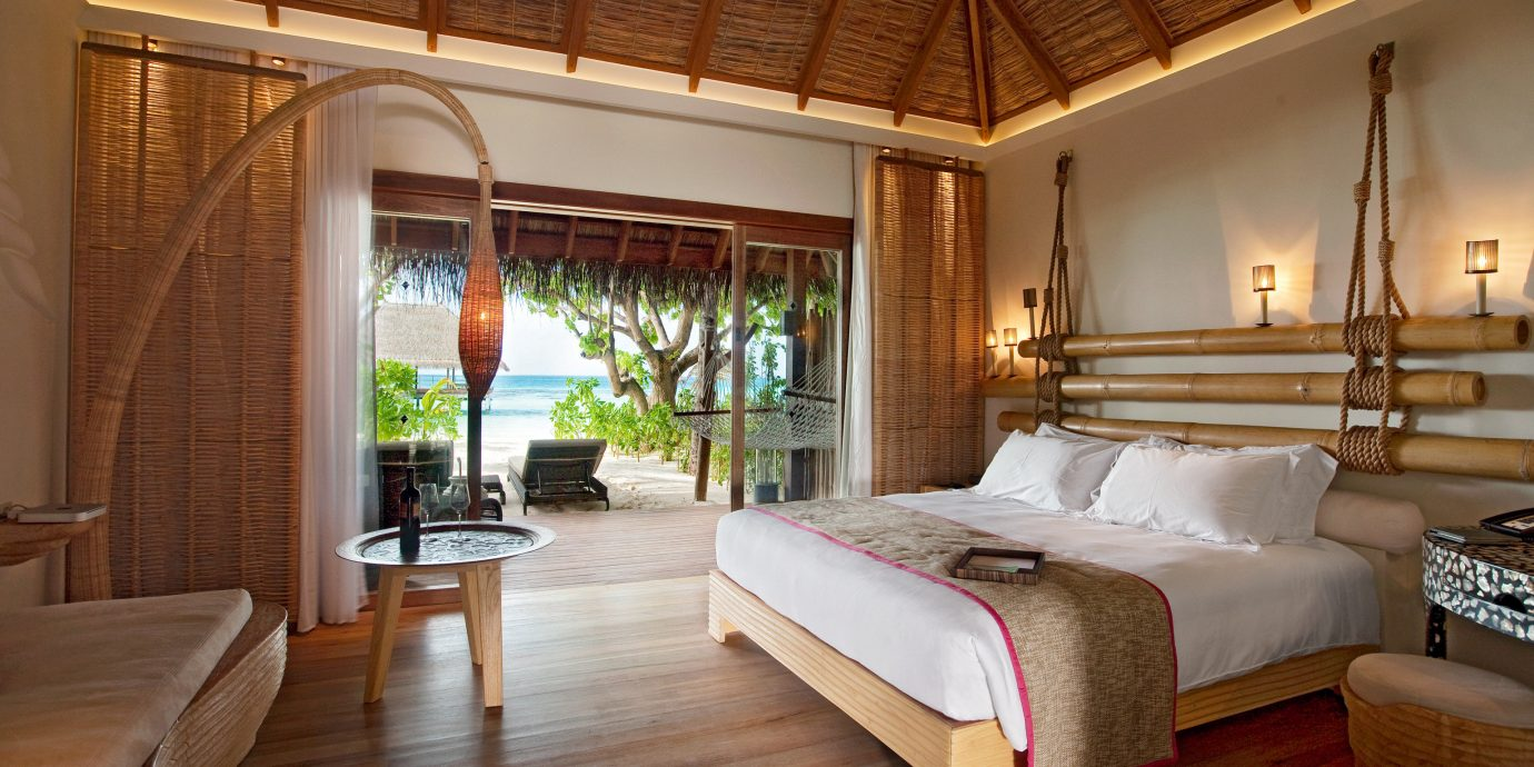 All-Inclusive Resorts Beachfront Bedroom Hotels Island Luxury Romance Romantic property Resort Villa home Suite hardwood cottage living room farmhouse mansion