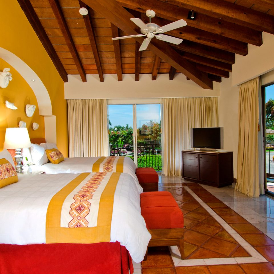 All-Inclusive Resorts Bedroom Hotels Patio Scenic views Suite property Resort cottage Villa home living room farmhouse