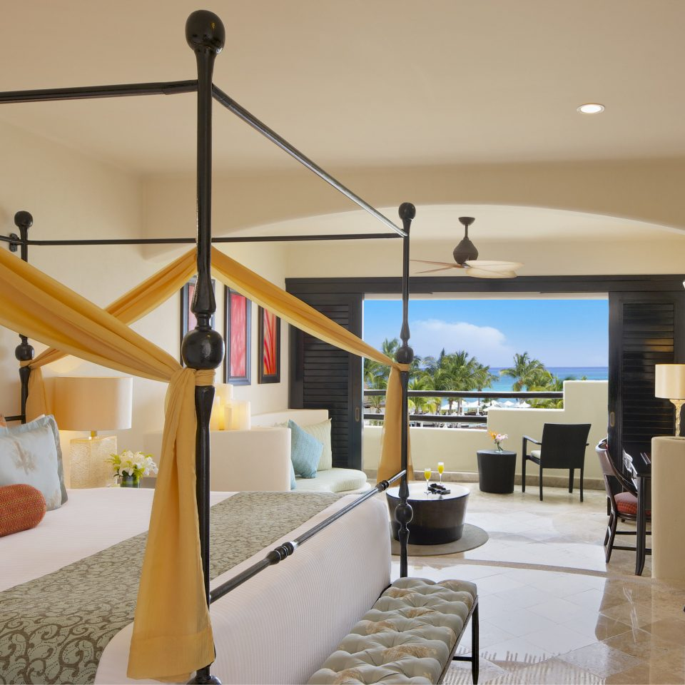 All-Inclusive Resorts Hotels Romance Bedroom home house living room penthouse apartment interior designer Suite