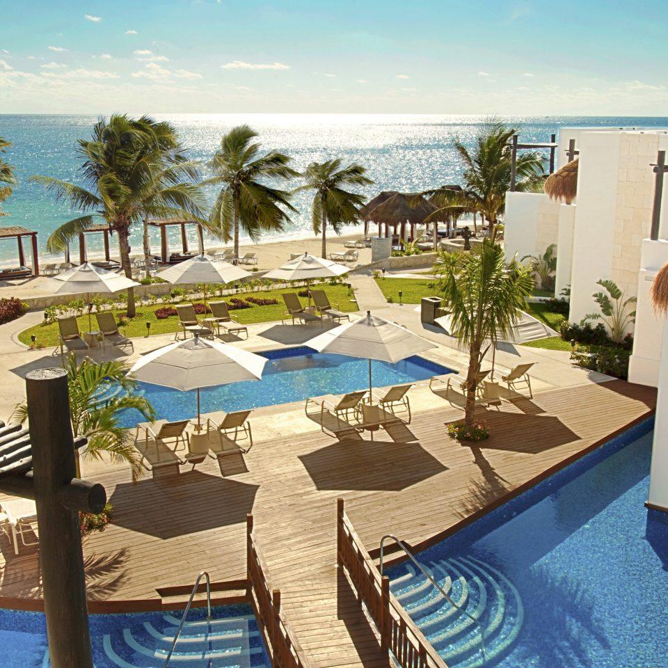 All-Inclusive Resorts Exterior Family Travel Hotels Lounge Luxury Modern Pool Romantic sky property leisure Resort swimming pool building Villa condominium hacienda home Deck