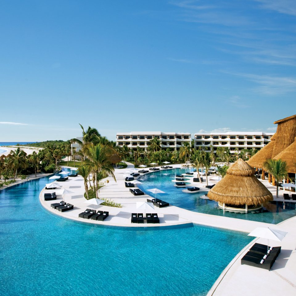 All-Inclusive Resorts Hotels Romance sky Resort property resort town swimming pool leisure blue caribbean Sea condominium tropics Lagoon Villa Island