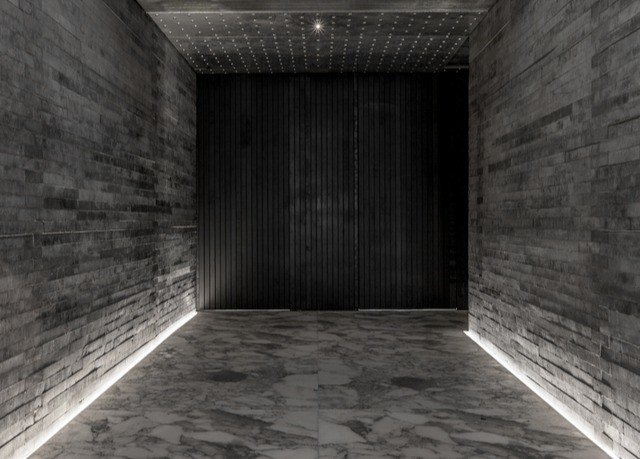 brick ground building subway darkness tunnel sidewalk infrastructure alley flooring screenshot hall stone