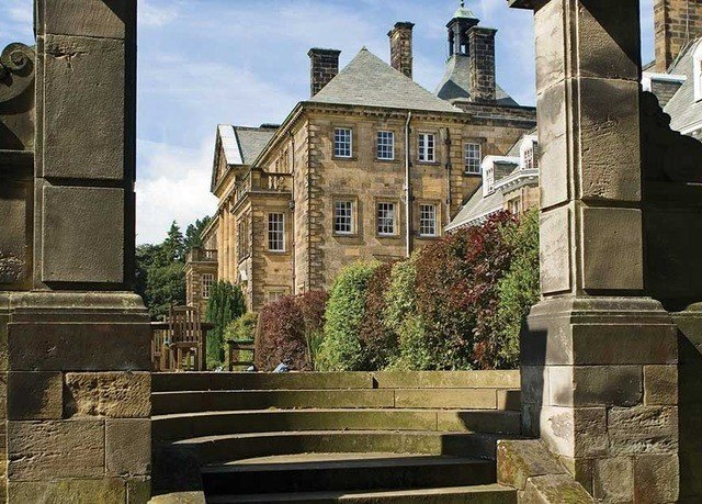building property stone stately home mansion medieval architecture almshouse tree house statue château old
