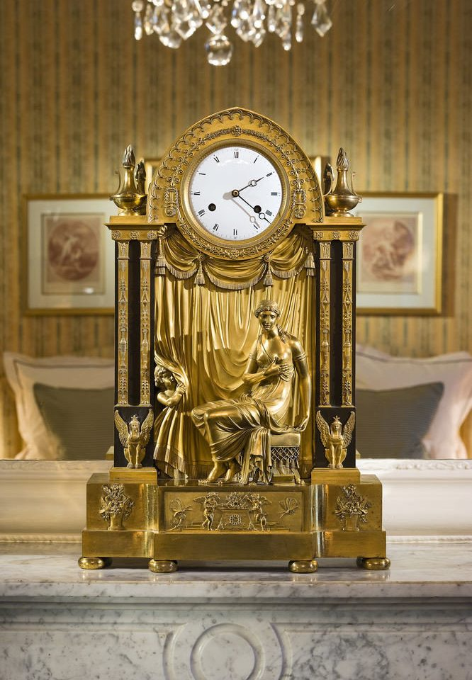 clock art altar ancient history carving