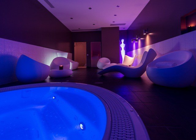 purple light lighting swimming pool leisure centre amenity jacuzzi blue