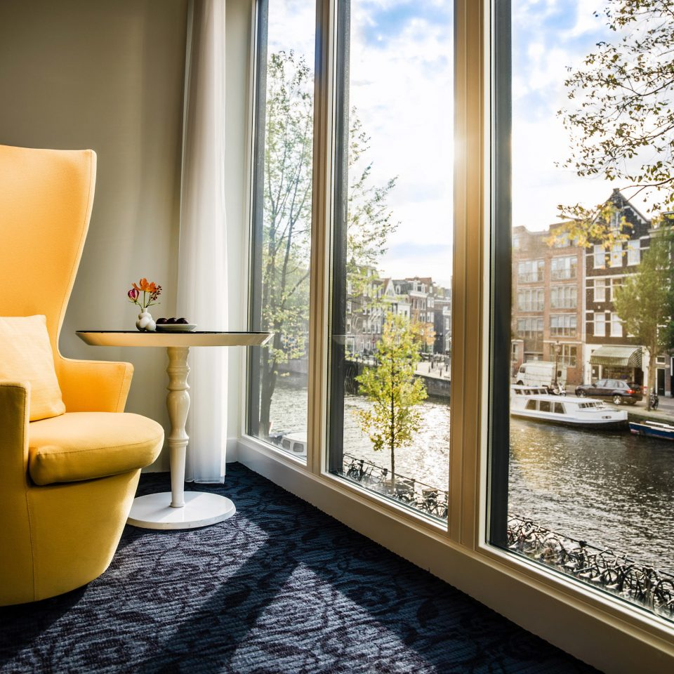 Amsterdam Boutique Hotels Hip Hotels Lounge Luxury Modern The Netherlands property home living room condominium Lobby flooring