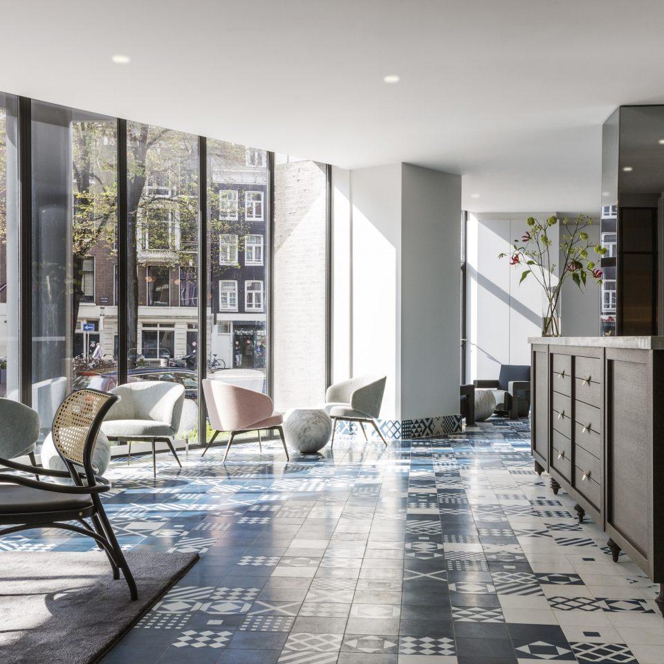 Amsterdam Hotels The Netherlands Lobby living room flooring interior designer