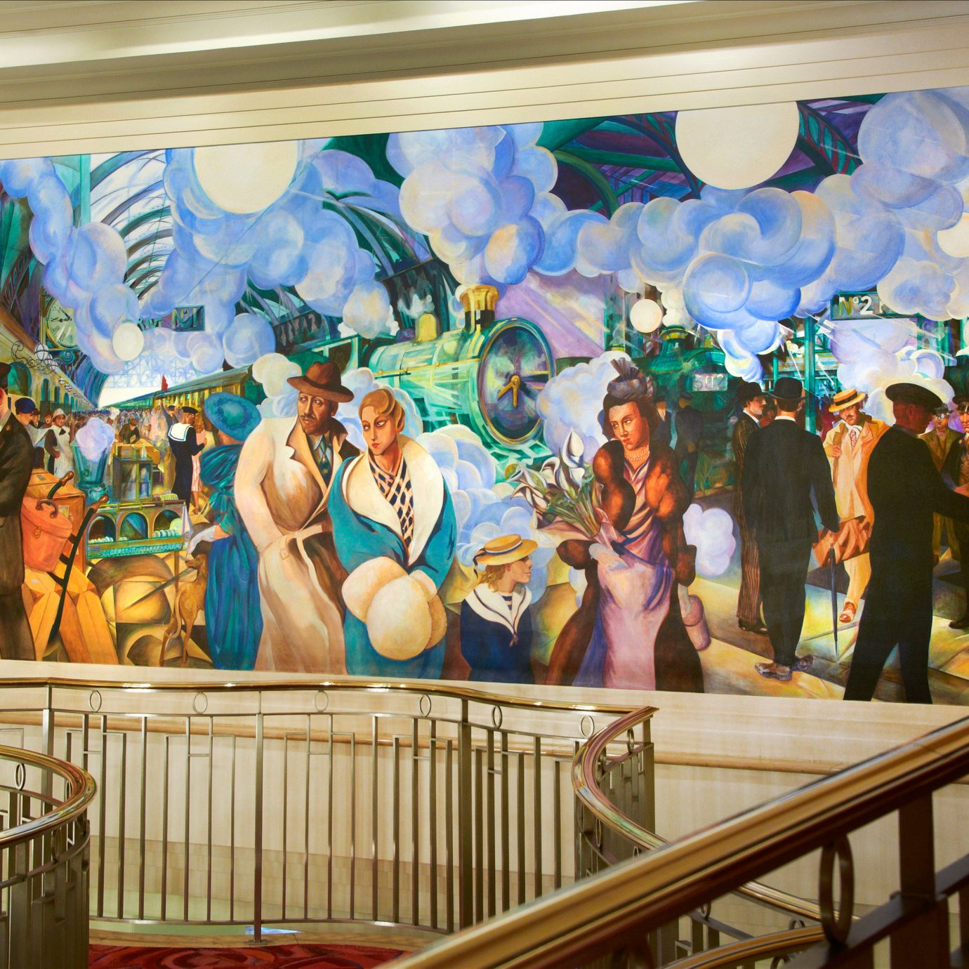 mural art amusement park tourist attraction art gallery modern art