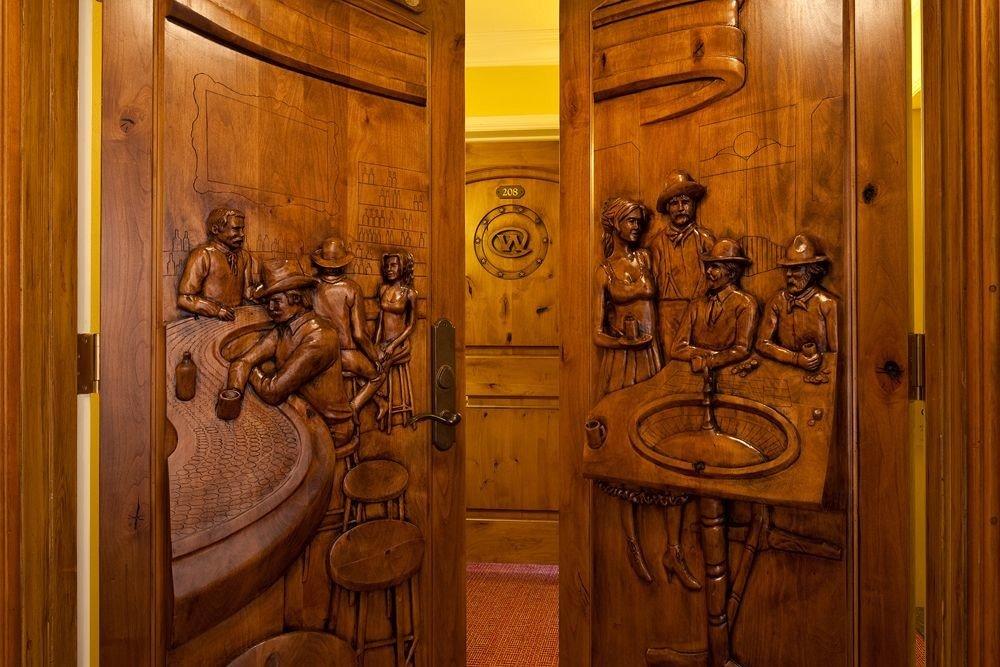 bathroom man made object door wardrobe art carving ancient history doorway