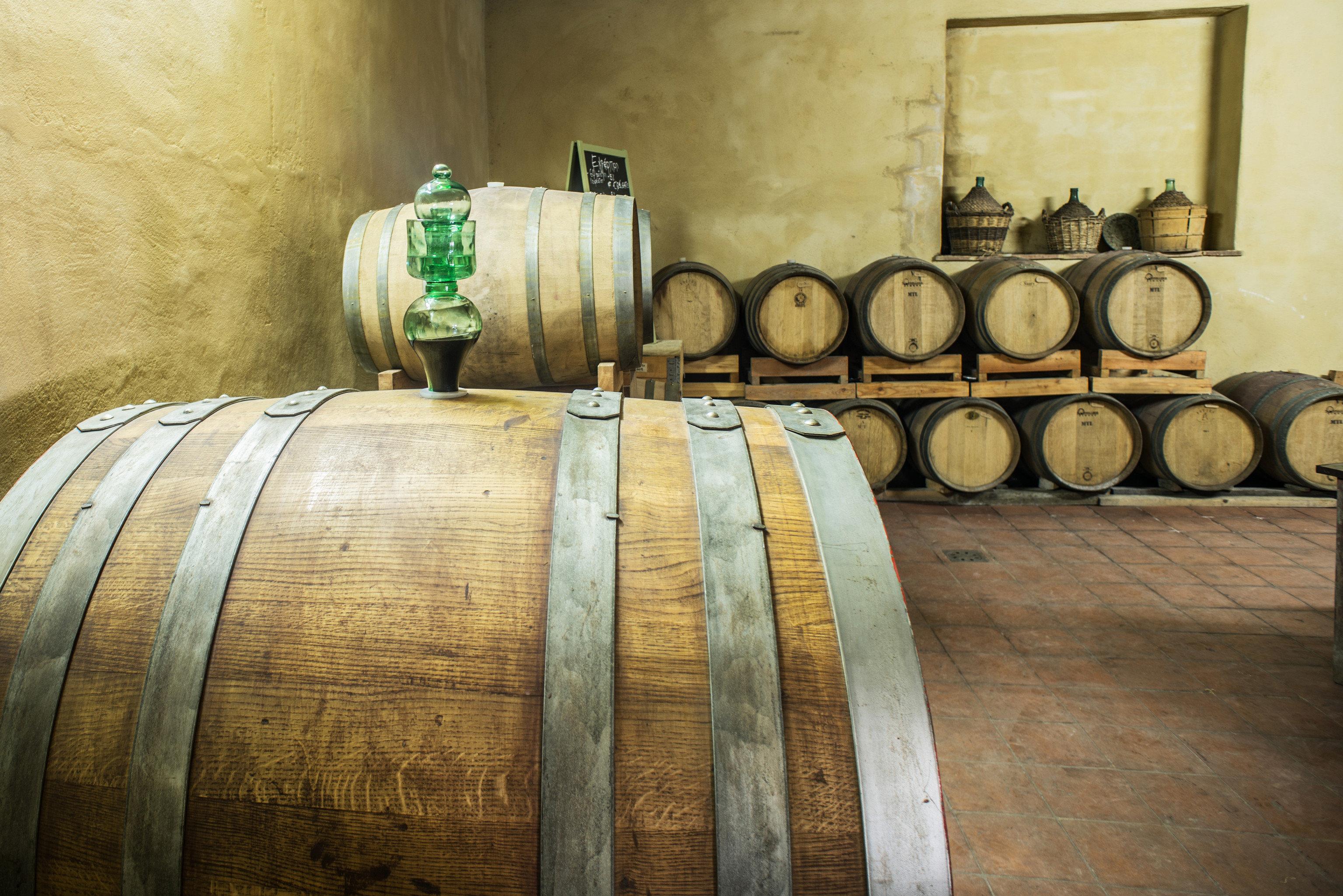 vessel barrel man made object basement wooden ancient history old