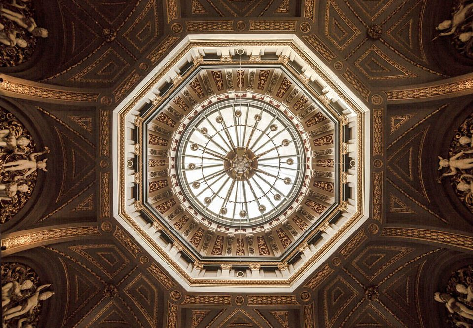 dome building ancient history symmetry flooring carving vault