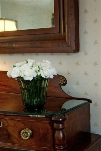 hardwood antique flower chest of drawers old