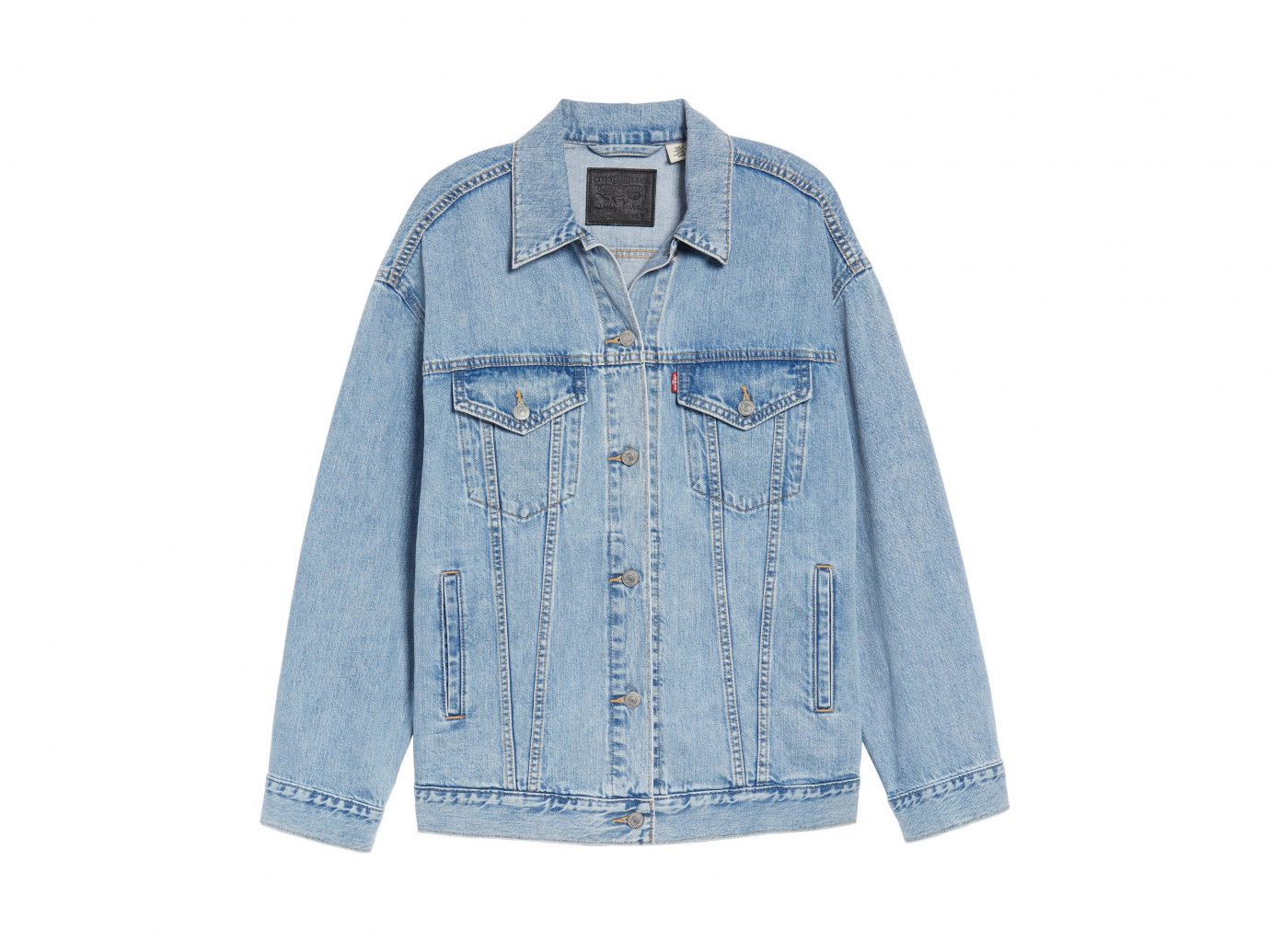 Packing Tips Spring Travel Style + Design Travel Shop denim sleeve button textile jacket product shirt jeans