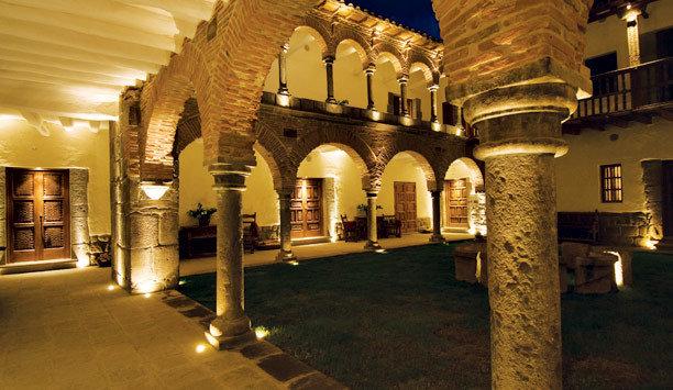 tourist attraction lighting column historic site hacienda arch arcade medieval architecture colonnade