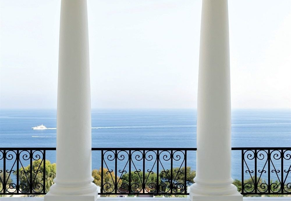 sky water column structure building baluster colonnade arch