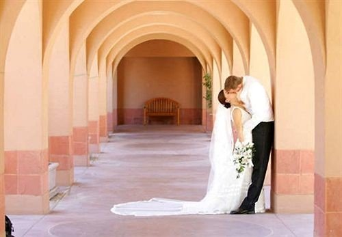 building wedding dress bridal clothing ceremony bride gown court stone arch colonnade