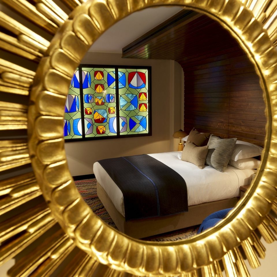 color metalware living room modern art circle spiral arch gear