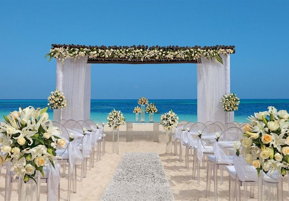 arch flower wedding