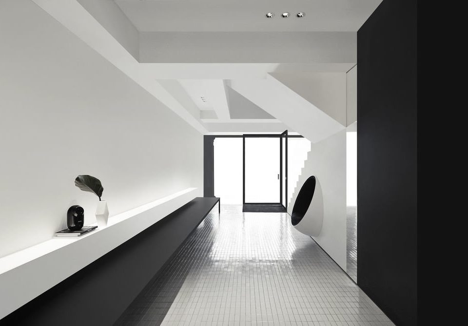 black and white Architecture daylighting house product design monochrome angle interior designer monochrome photography loft hall