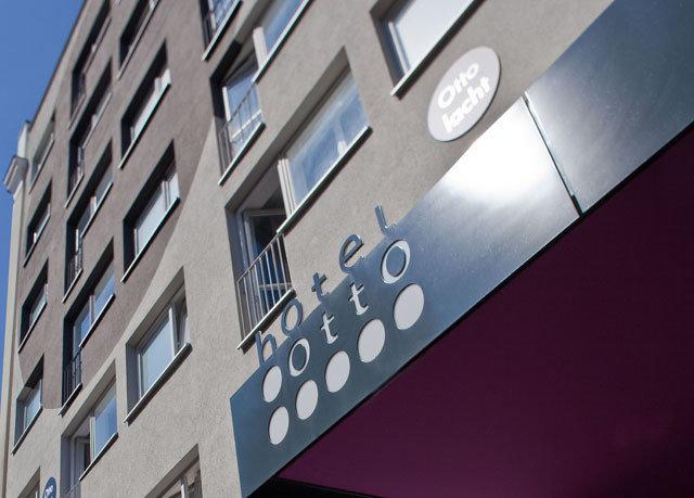 blue Architecture brand shape signage apartment building