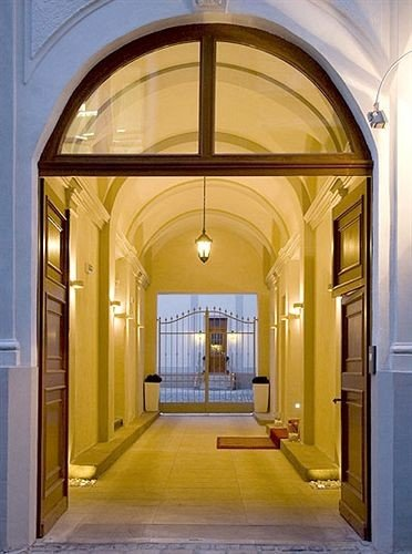 building property arch Architecture door hall home mansion yellow