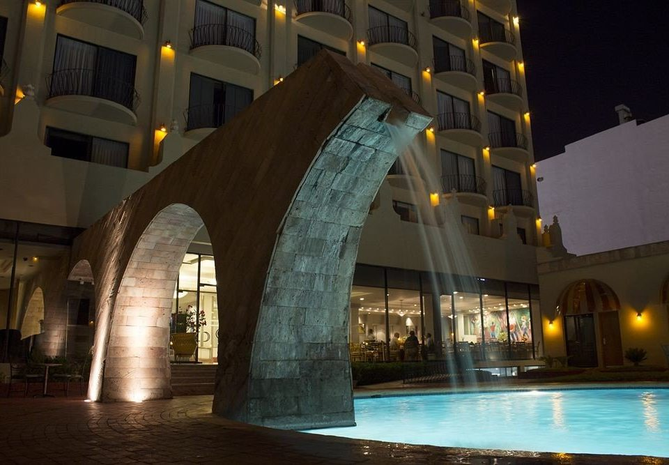 building night Architecture tourist attraction arch