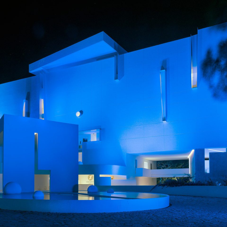 color blue night house light Architecture atmosphere of earth lighting theatre