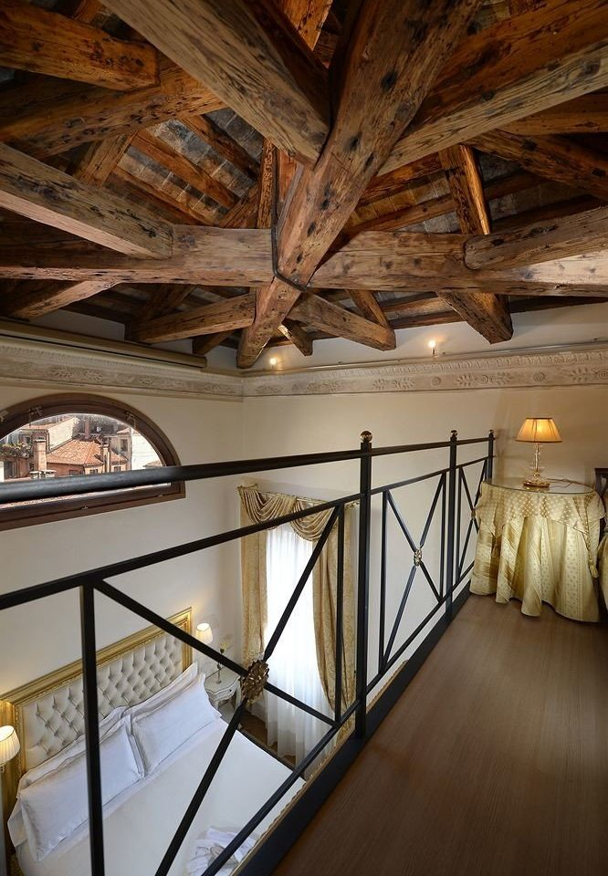 building Architecture attic daylighting lighting home stairs beam